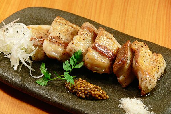 イベリコ豚(デ・ベジョータ)炙り焼き